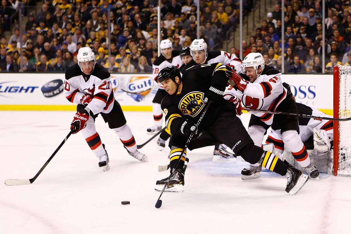 Nathan Horton is well covered here.  He wouldn't be for his game tying goal late in the third period.