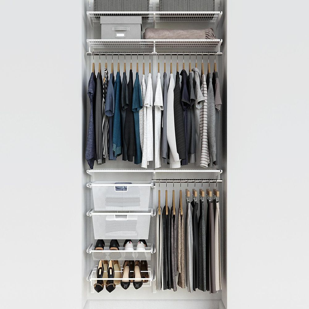 Storage ideas: These Container Store closets keep chaos at bay