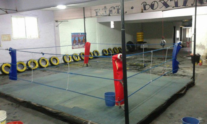 The ring with three ropes that was fought in