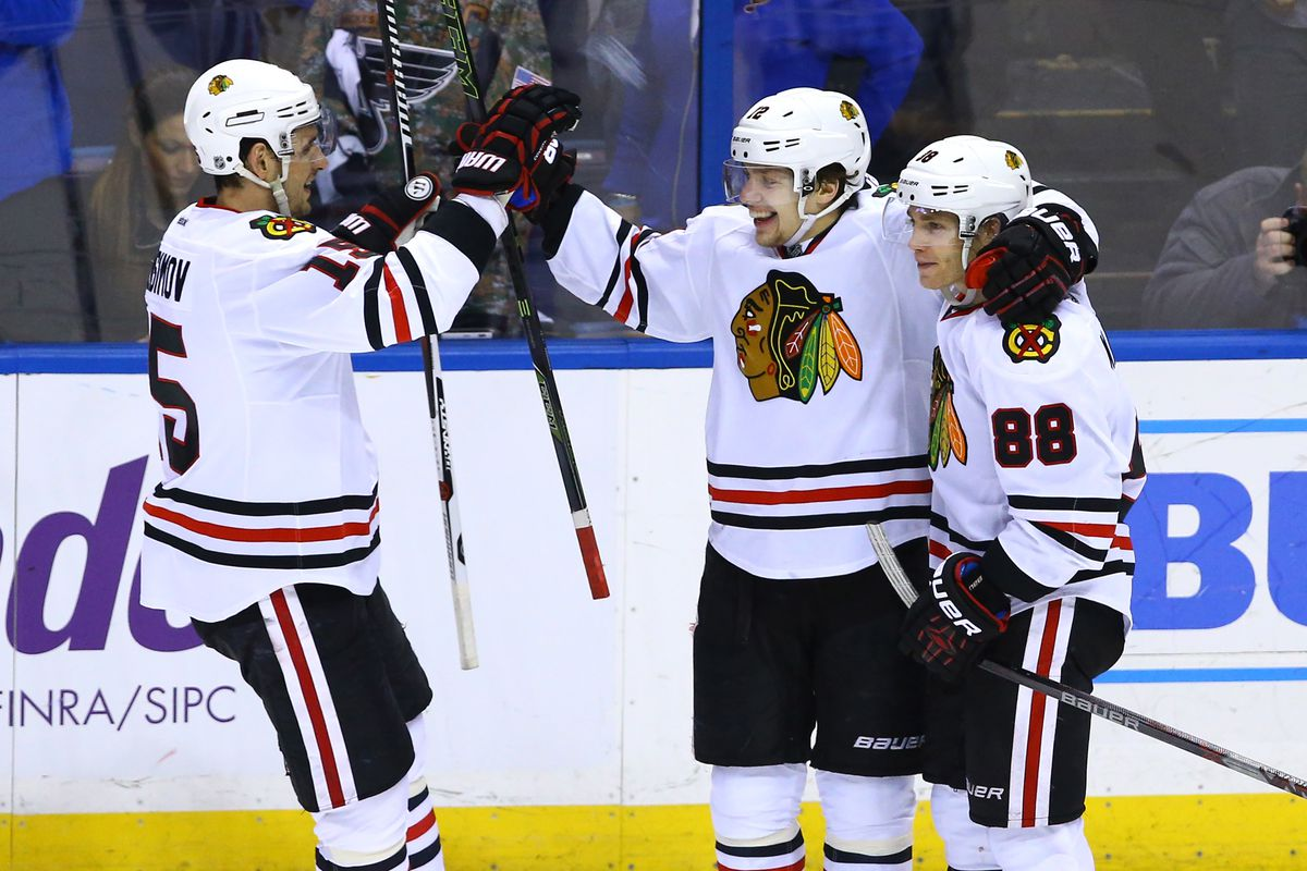 NHL: Stanley Cup Playoffs-Chicago Blackhawks at St. Louis Blues