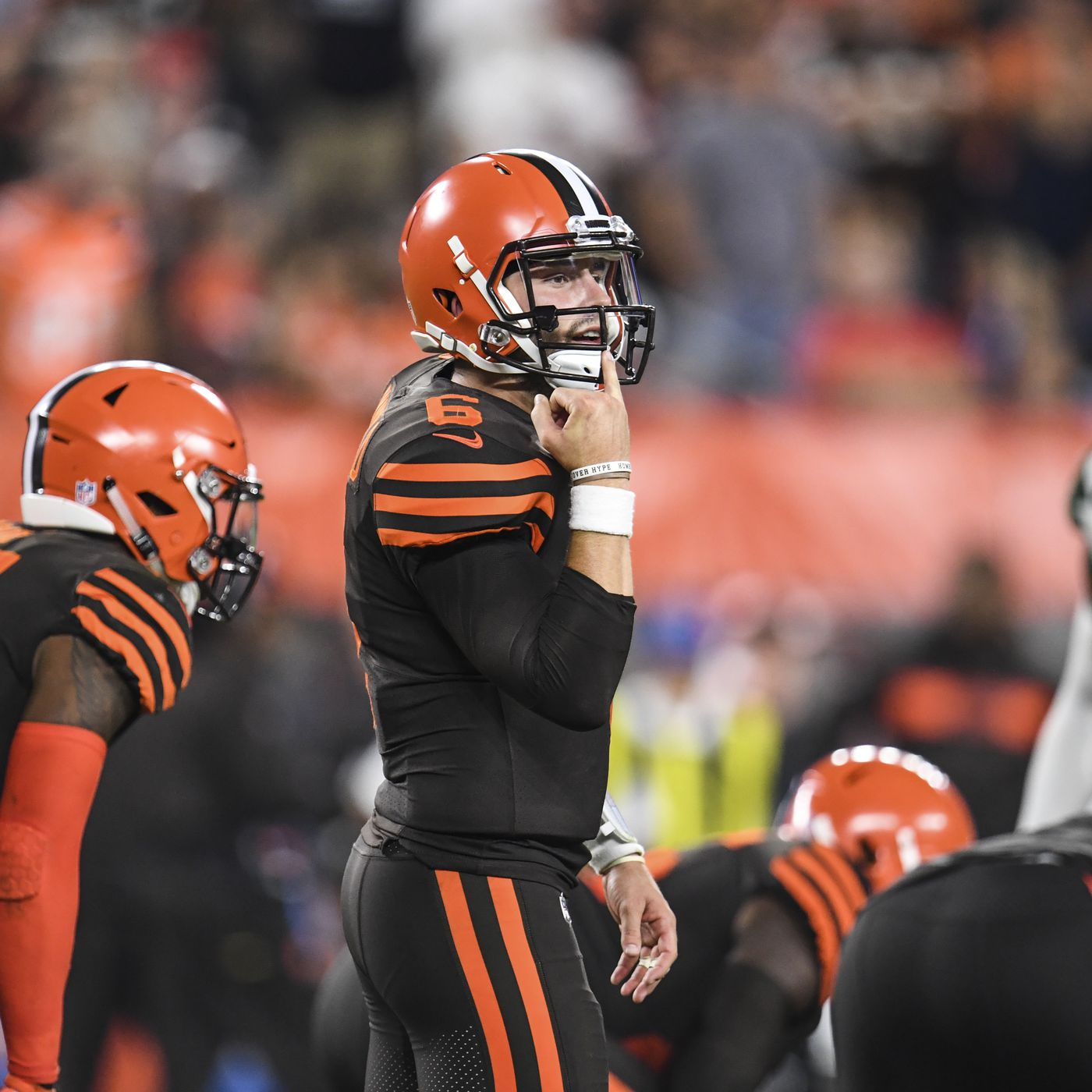 pretty nice 29f9e 20585 Cleveland Browns to wear Color Rush uniforms for six home ...