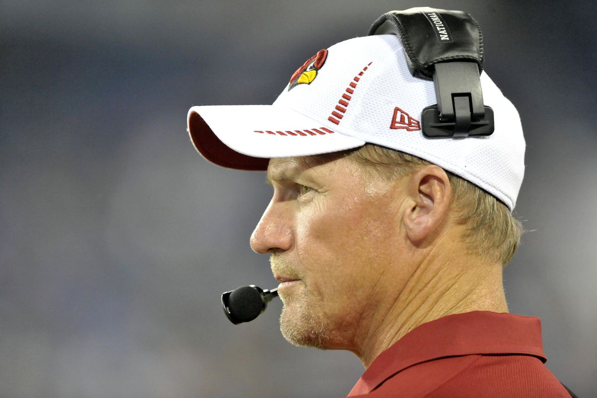 Aug 23, 2012; Nashville, TN, USA; Arizona Cardinals head coach Ken Whisenhunt on the sideline against the Tennessee Titans during the second half at LP Field. Mandatory Credit: Jim Brown-US PRESSWIRE