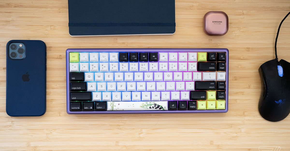 Epomaker AK84S review: a great wireless keyboard, plus some quirks