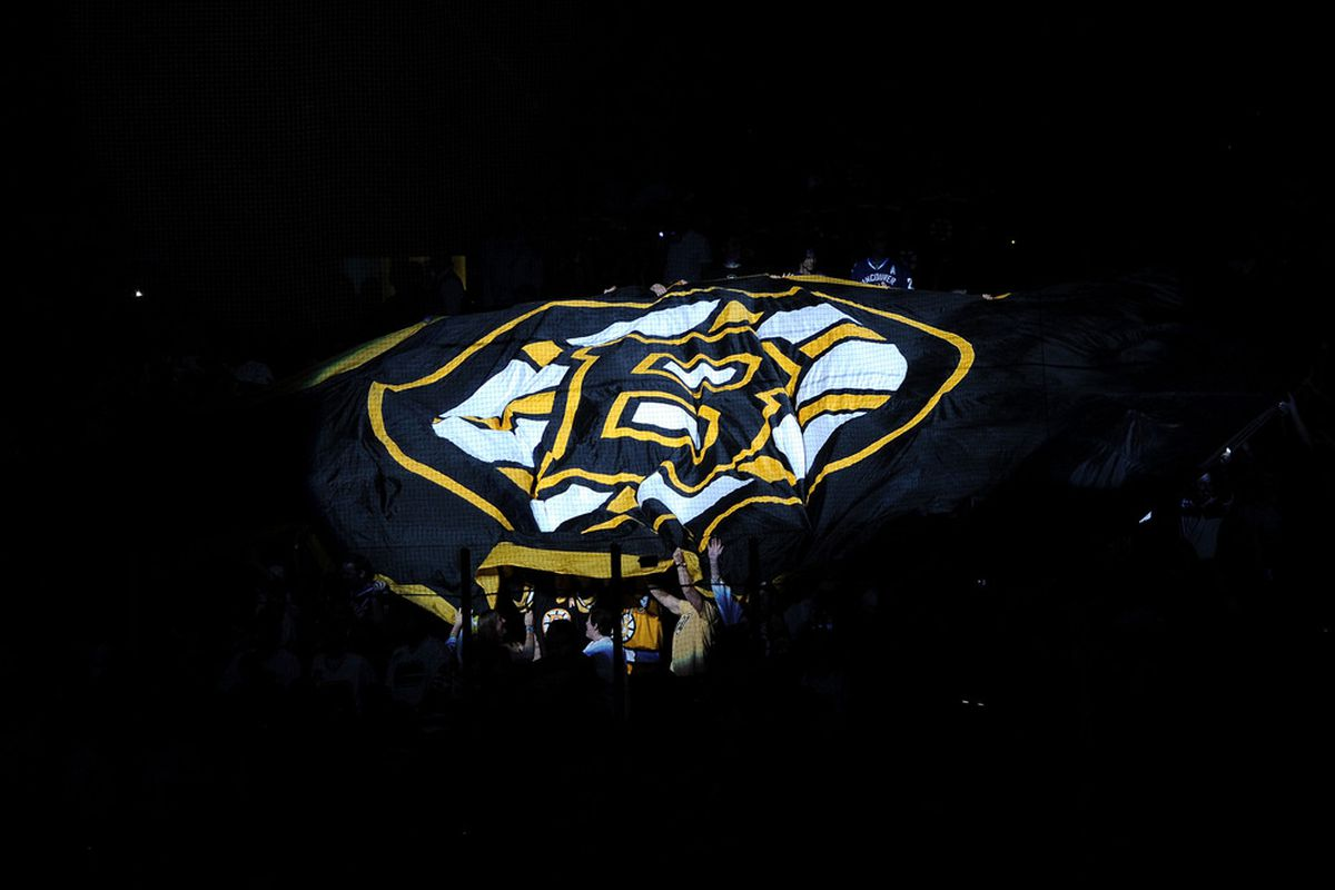 Odds on favorites to win the Atlantic Division, the Boston Bruins