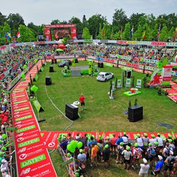 General view of the stadium during Challenge Roth on July 20, 2014 in Roth, Germany. (Photo by Lennart Preiss/Getty Images)