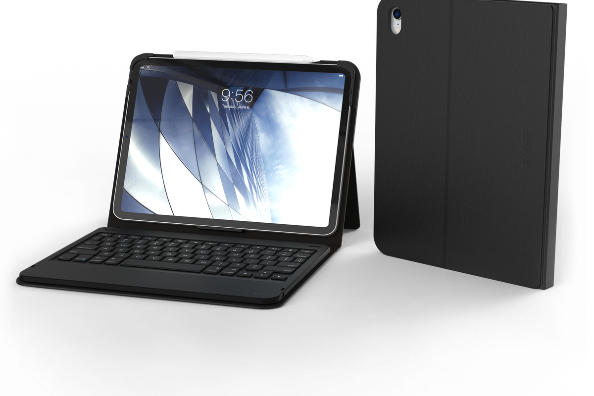 the latest 89abe 48a58 Zagg launched some new iPad Pro and iPad keyboard cases, complete ...