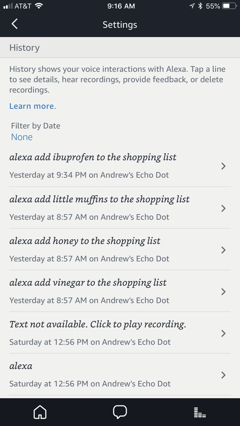 How to hear (and delete) every conversation your Amazon Alexa has
