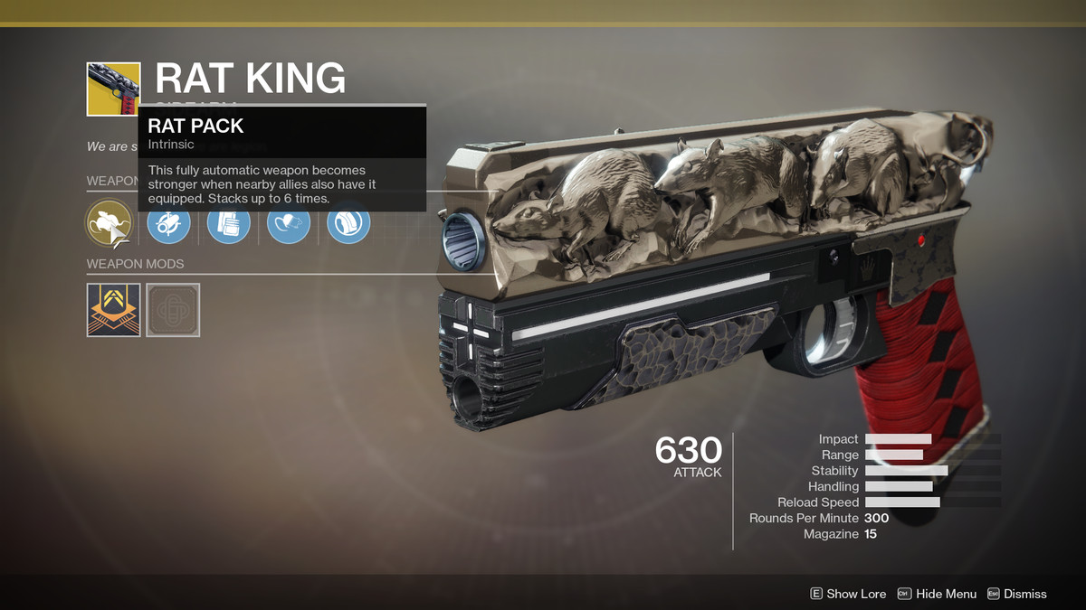 Rat King Exotic Destiny 2