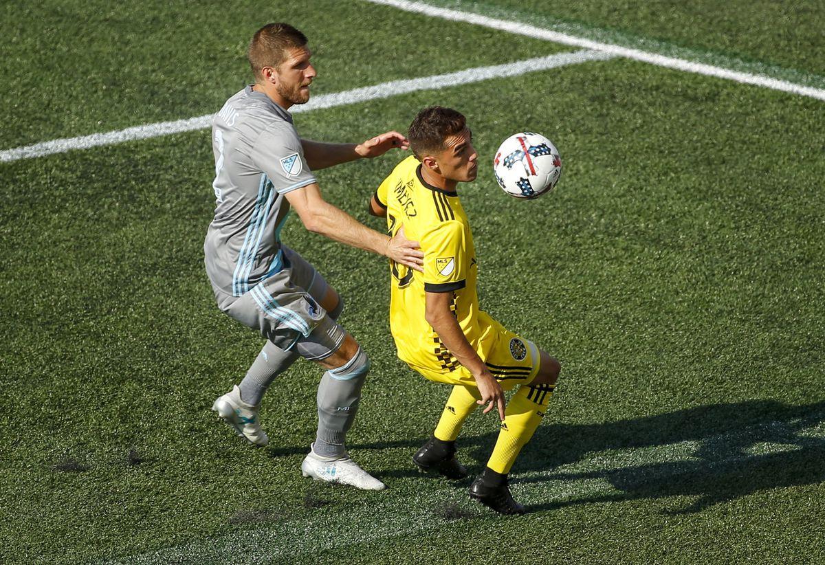 MLS: Columbus Crew SC at Minnesota United FC