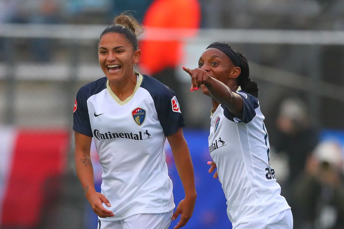 SOCCER: MAY 19 NWSL - NC Courage at Sky Blue FC