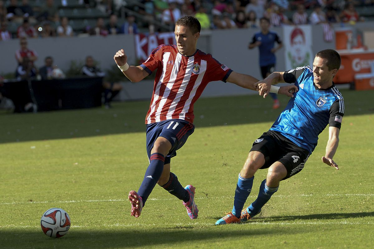 Barrera in action last year against his new team.