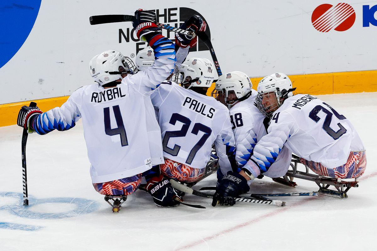 Paralympics 2018  Team USA wins 3rd straight sled hockey gold medal 73b3ca548