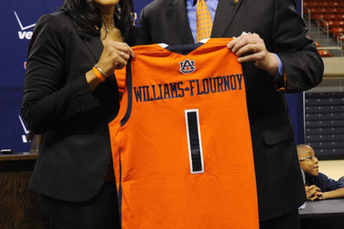 New Auburn Tigers Basketball Coach,Terri Williams-Flournoy says she knows how to win and will instill that in her players at Auburn. (<em>photo, Todd Van Ernst</em>)