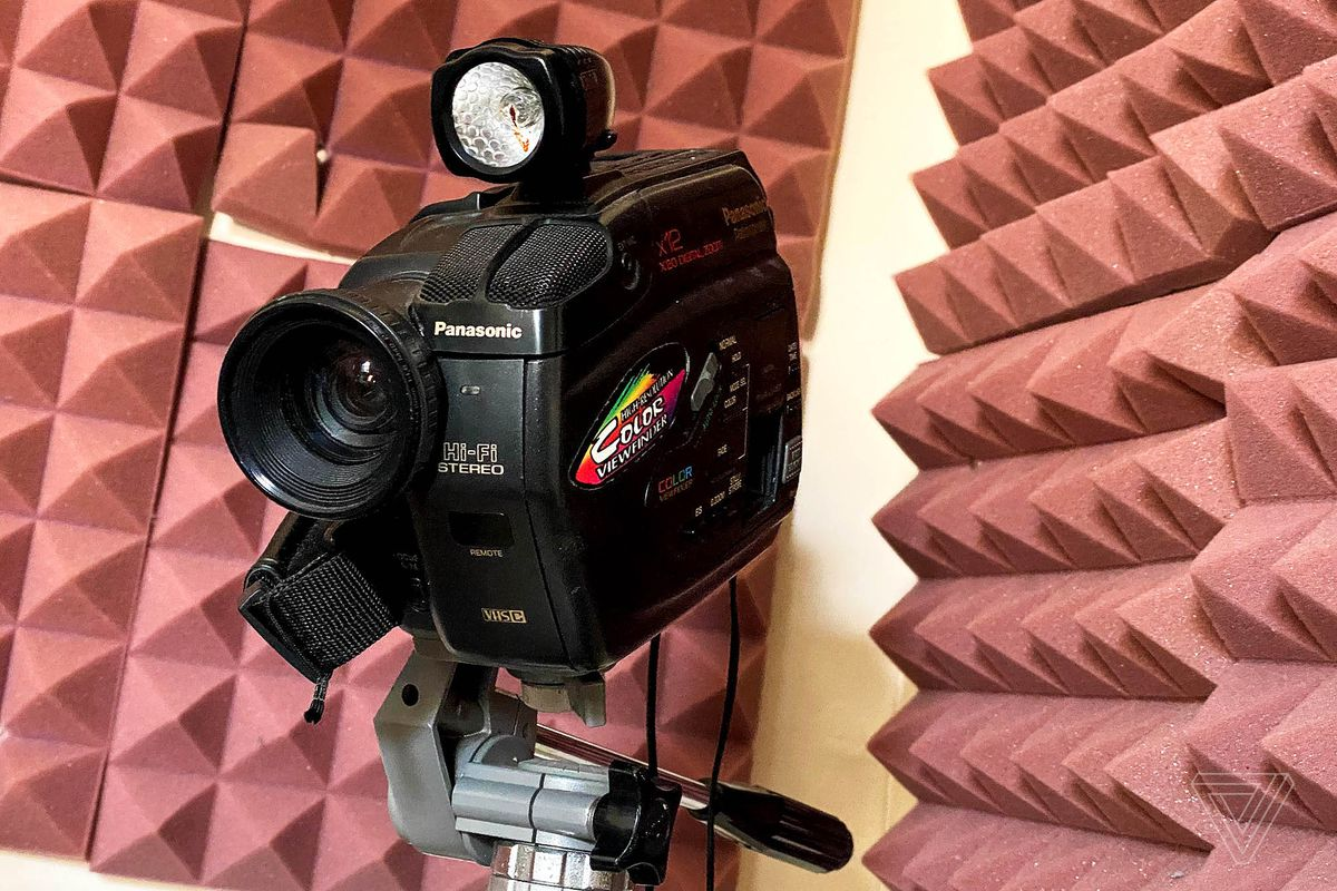 This Panasonic camera now serves as a webcam.