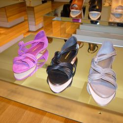 Later: Lila vachetta flat sandal ($295)