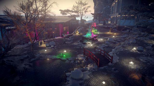 Hokkaido decked out for <em>Hitman 2</em>'s Snow Festival.