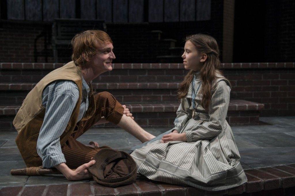 "Aubrey McGrath and Tori Whaples in ""The Secret Garden"" at Court Theatre. (Photo: Michael Brosilow)"
