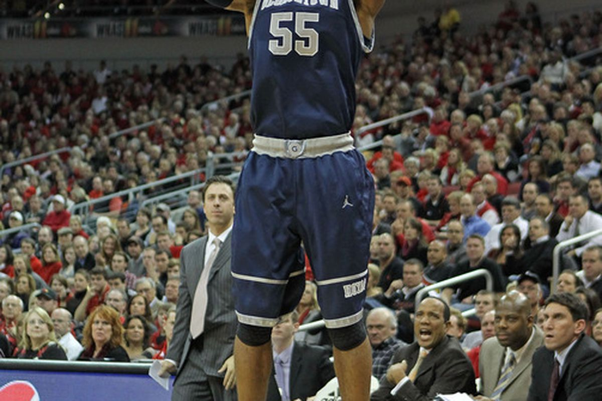 Jabril Trawick and the Hoyas get back to hoop at the 2012 Kenner League.  (Photo by Andy Lyons/Getty Images)