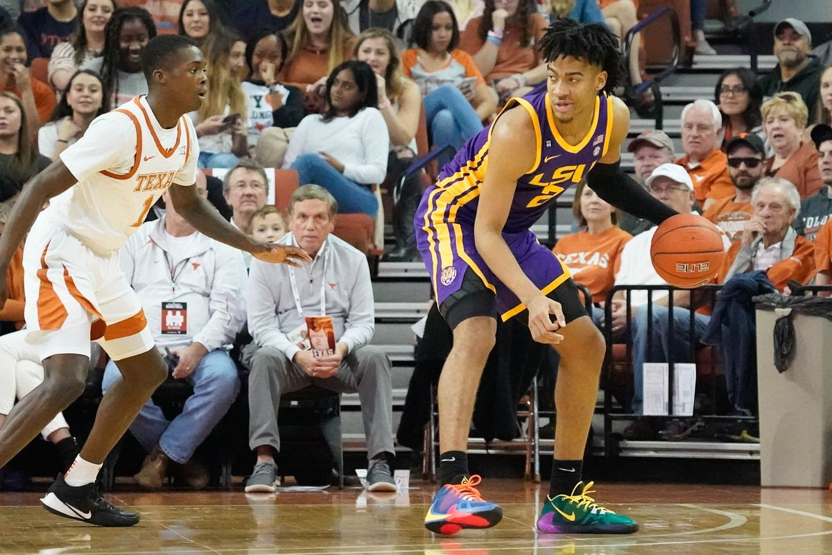 NCAA Basketball: Louisiana State at Texas