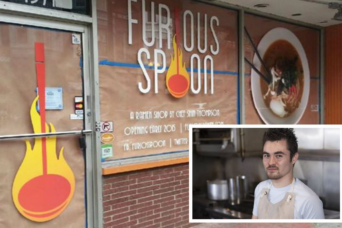 Furious Spoon / Shin Thompson