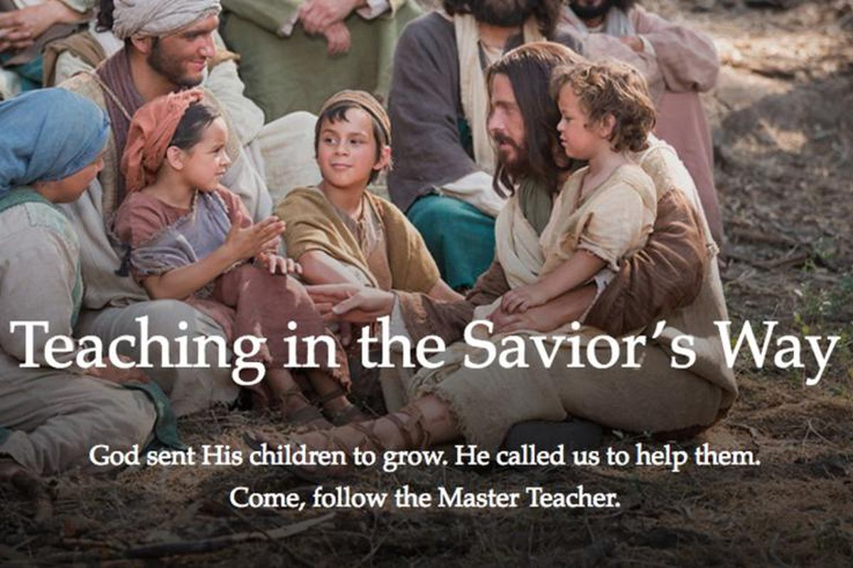 """The LDS Church introduced a new manual, """"Teaching in the Savior's Way,"""" on Sunday in an email to local church leaders and all teachers in the church."""