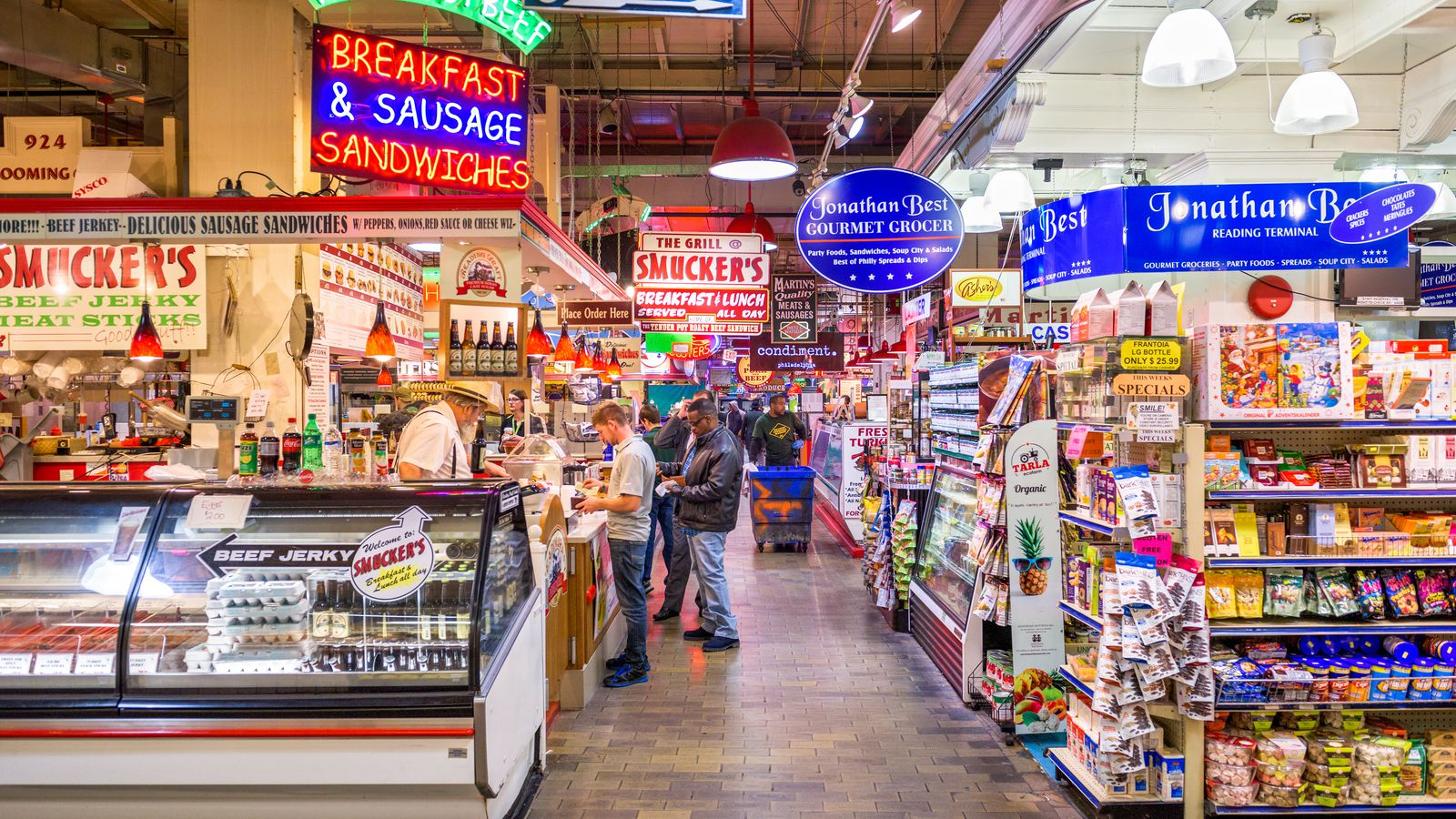 Photos Reading Terminal Market From 1891 To Today