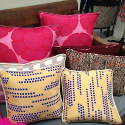 Pillows, $25-$45