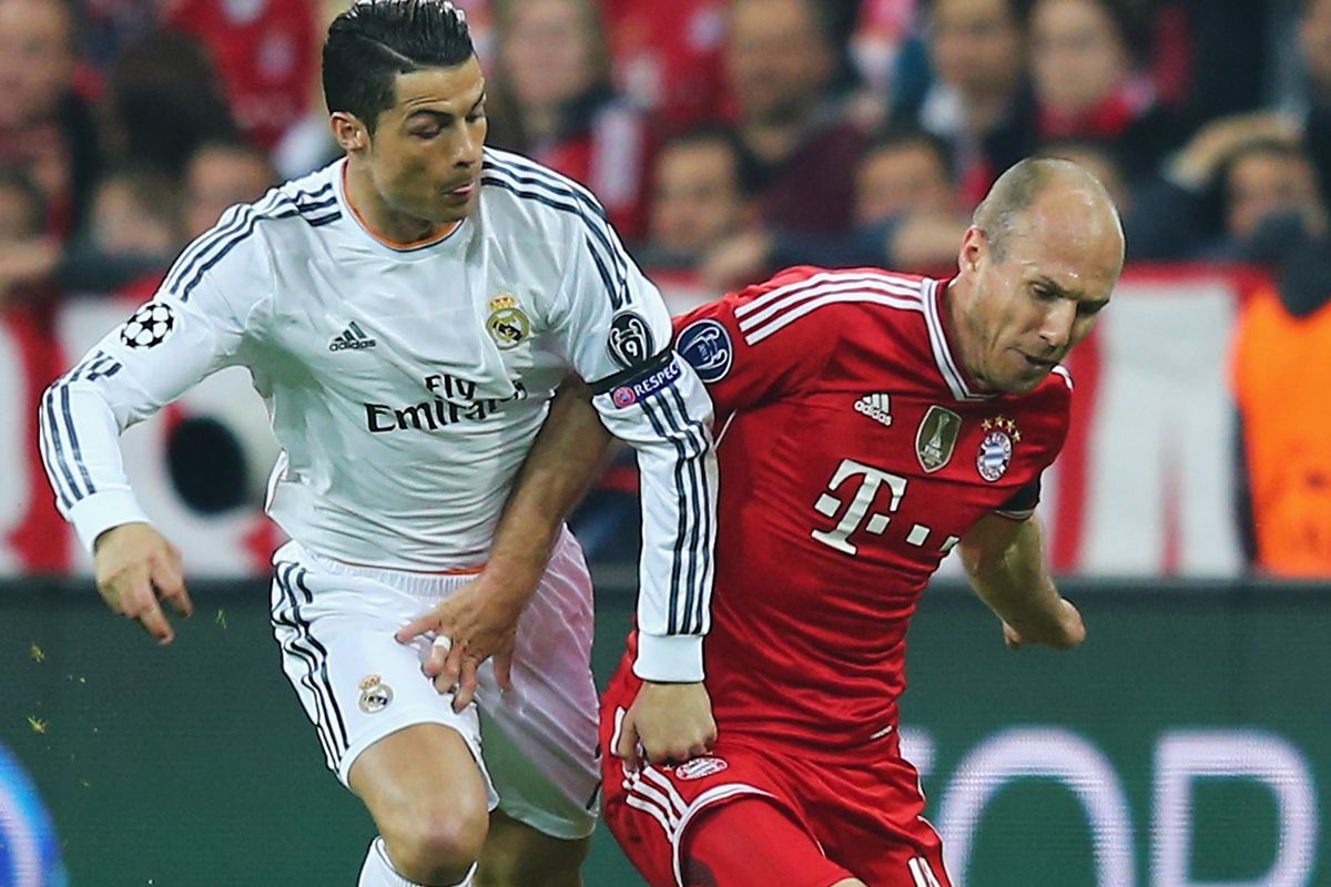 reputable site 43e45 f3bef Louis van Gaal wants Cristiano Ronaldo and Arjen Robben, and ...