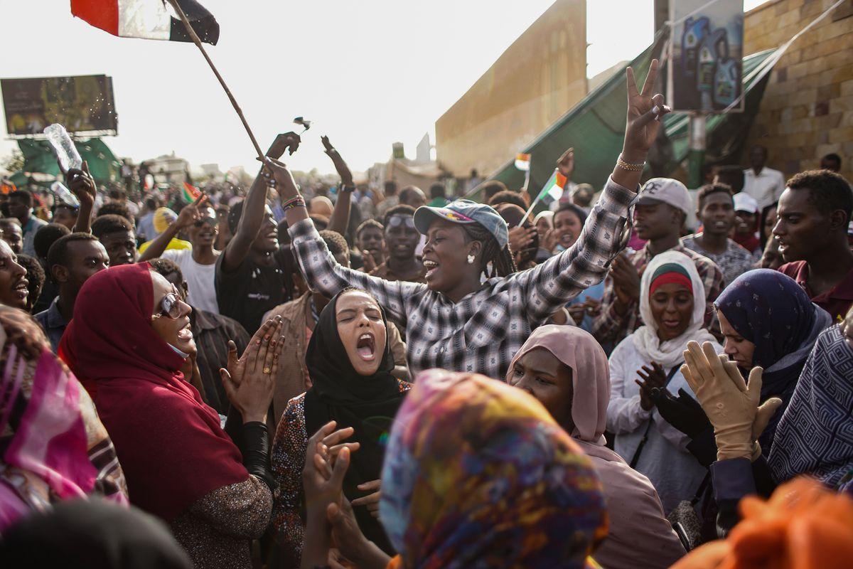Military Time Clock >> Sudan protests: women helped bring down President Omar al