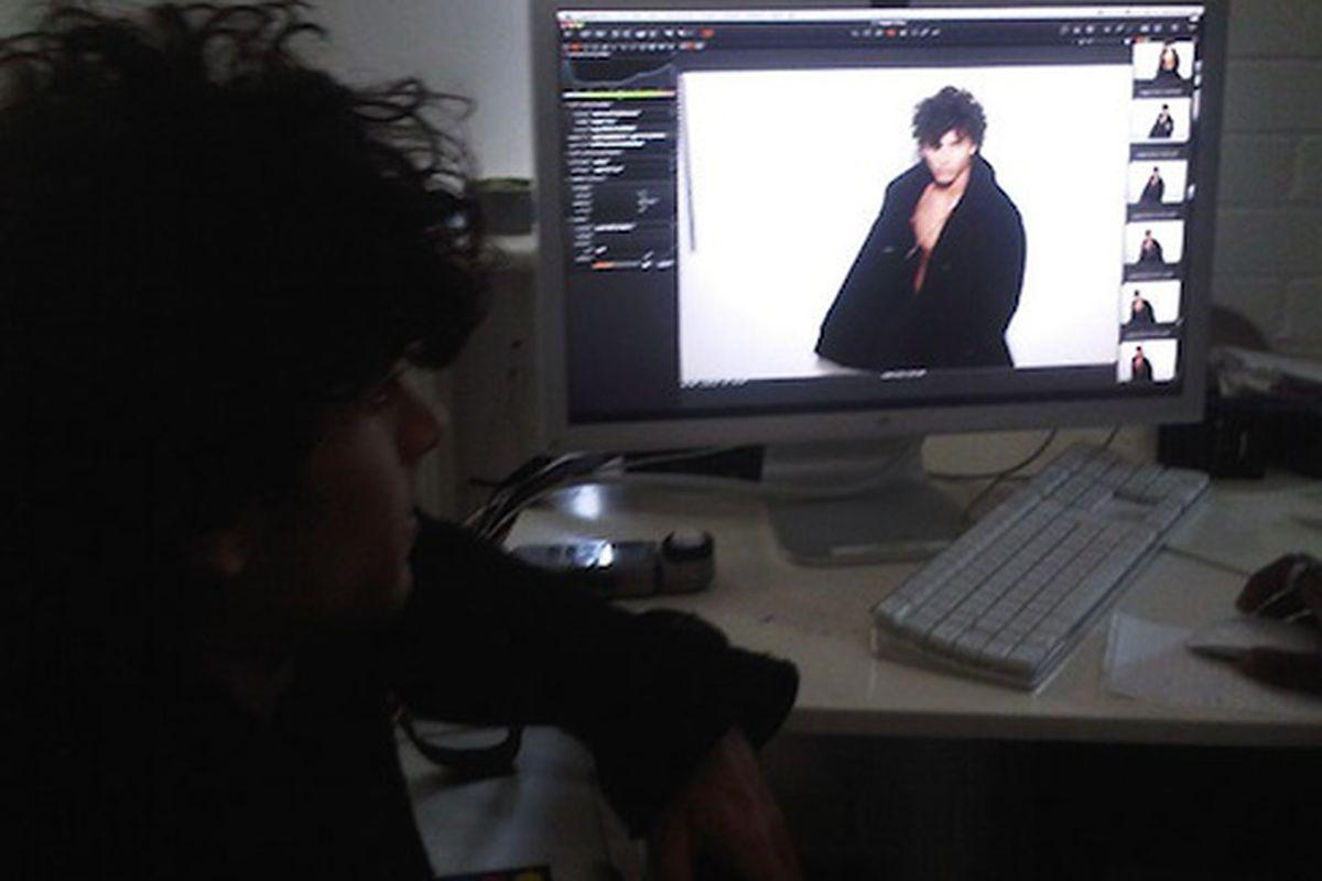"""Jesus Luz poses for Vogue Homme China, via <a href=""""http://revistaquem.globo.com/Revista/Quem/0,,EMI148131-8197,00.html"""">Quem</a>"""
