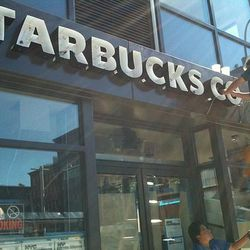 """Starbucks via <a href=""""http://eastvillage.thelocal.nytimes.com/2012/08/29/starbucks-gets-signage-may-open-next-week-plus-nevada-smiths-update/"""">The Local</a>."""