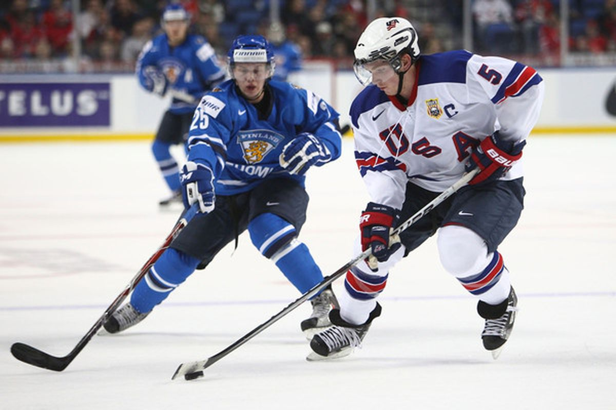 Wisconsin senior defenseman John Ramage has been a captain at the NCAA level, and for Team USA at the World Junior Championship. He'll lead the Badgers once again this season.