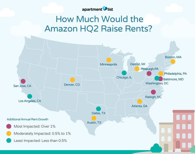 World Map For Sale Amazon. Apartment List updated its original analysis to include the metros on  Amazon s list of finalists Its findings suggest HQ2 would bump up Atlanta rents by an Reactions landing shortlist Curbed