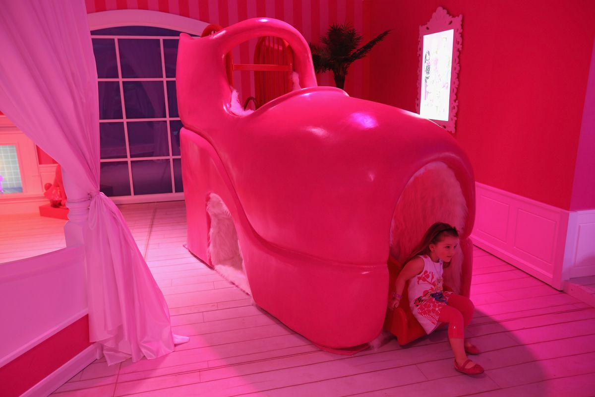 Barbie Dreamhouse Experience in Berlin, Germany, 2013.