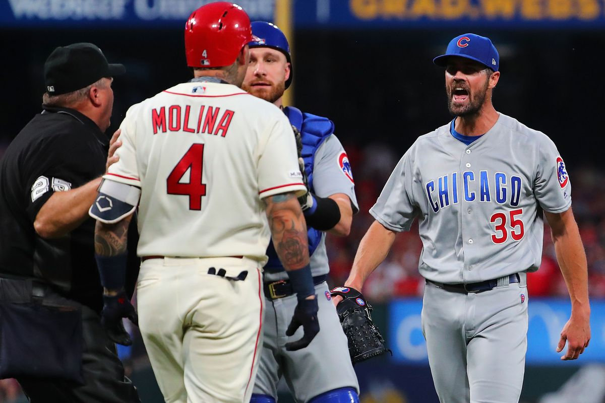 Cole fire: Hamels makes healthy sales pitch to 29 possible employers in Cubs' 8-6 win over Cards