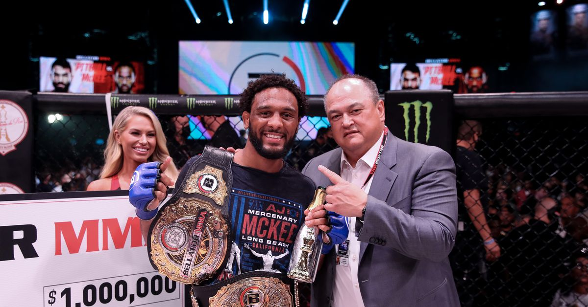Scott Coker sees CBS, pay-per-view cards in future for new Bellator champion A.J. McKee