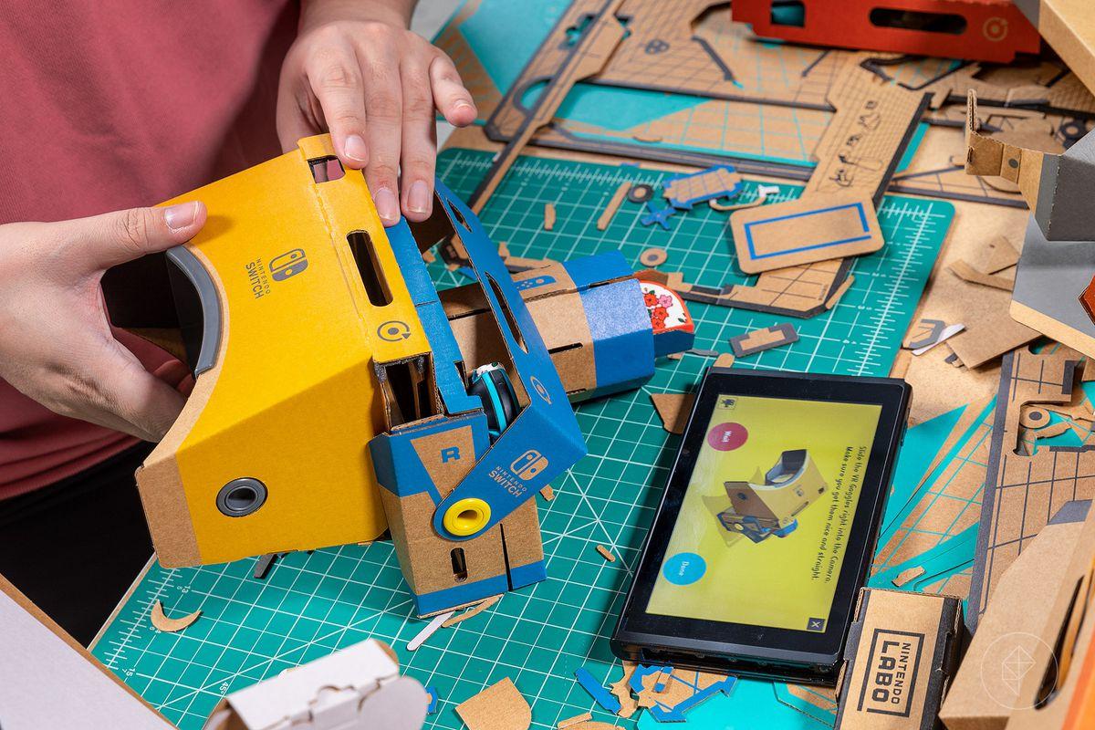 Nintendo Labo VR套件以便宜的价格为VR带来了俏皮的乐趣