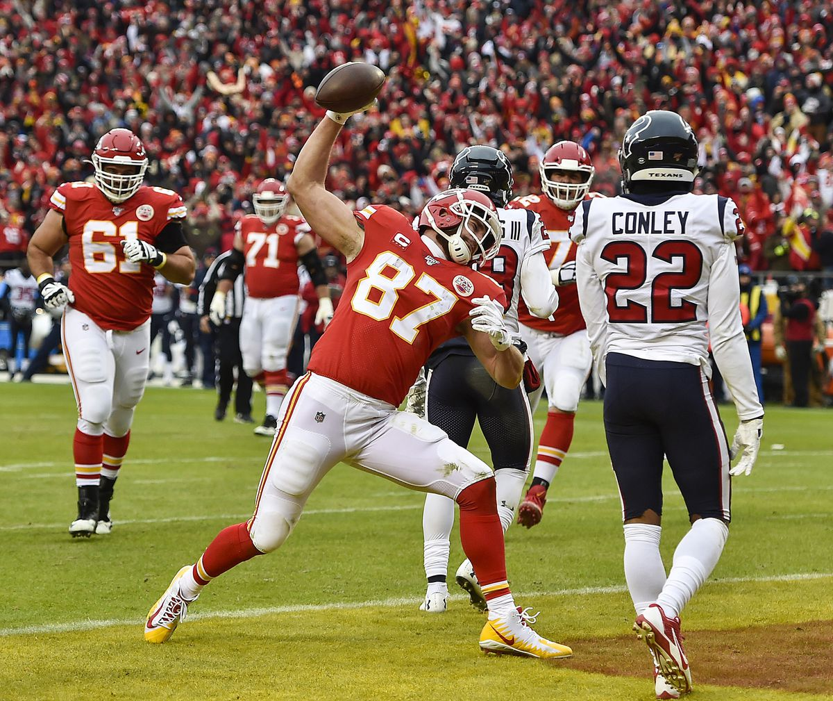 The Super Bowl is near, and the Chiefs will have everyone healthy for it