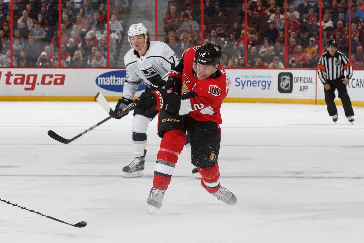 Los Angeles Kings v Ottawa Senators