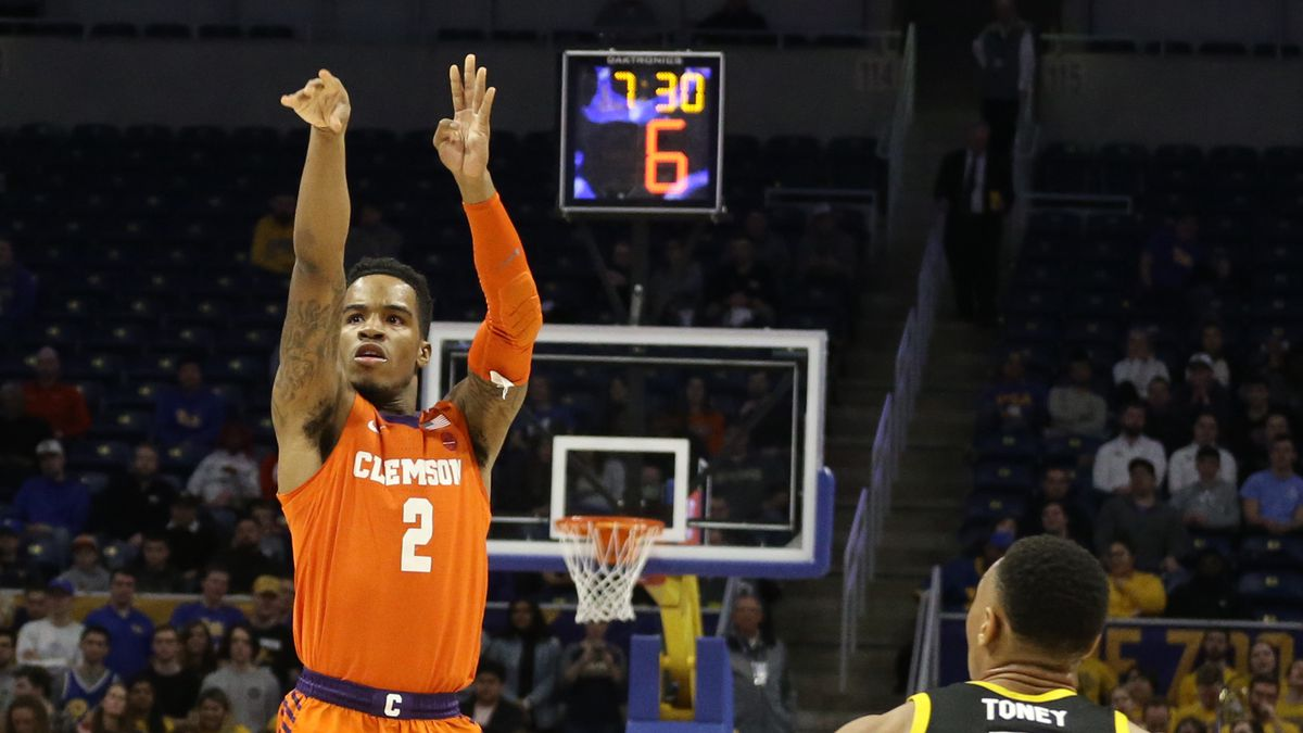 NCAA Basketball: Clemson at Pittsburgh