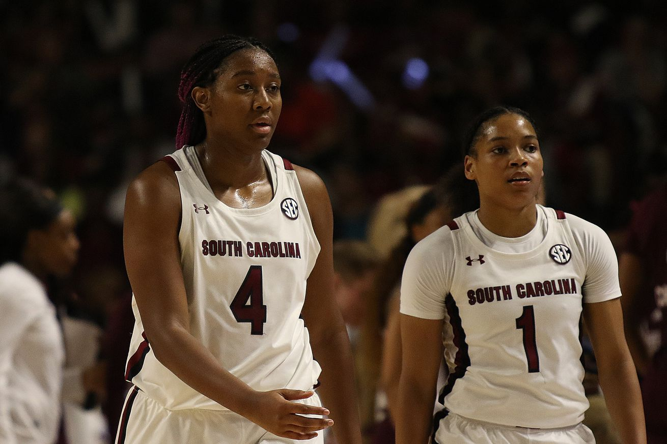 COLLEGE BASKETBALL: MAR 08 SEC Women's Tournament - Mississippi State vs South Carolina