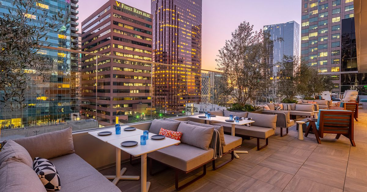 LA's new Wayfarer hotel feels like a colorful, art-filled playground in Downtown