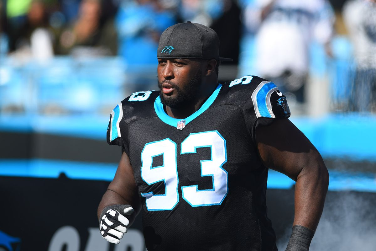 best website 442a5 a5227 NFL free agency: Carolina Panthers re-sign DT Kyle Love to a ...