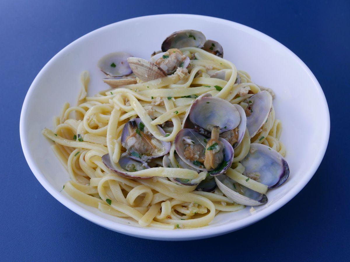 Clam Pasta Los Angeles vongole eataly