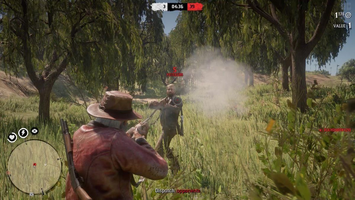The number of points you earn for a kill in Most Wanted matches depends on your victim's standing.