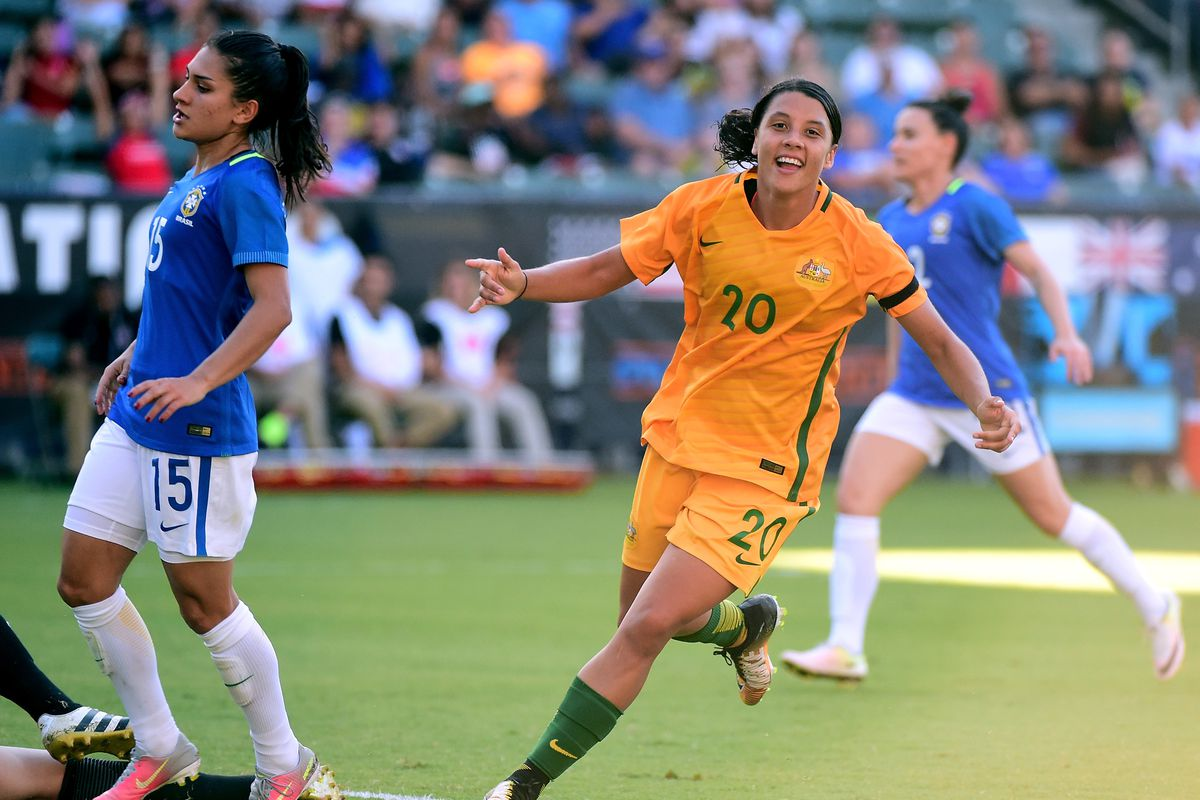ff1aabb6e93 Australia Crowned Tournament of Nations Champions After Dominating 6-1 Win  Against Brazil