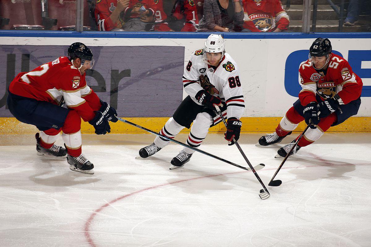 Chicago Blackhawks v Florida Panthers