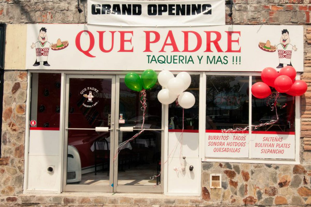 Que Padre in East Boston