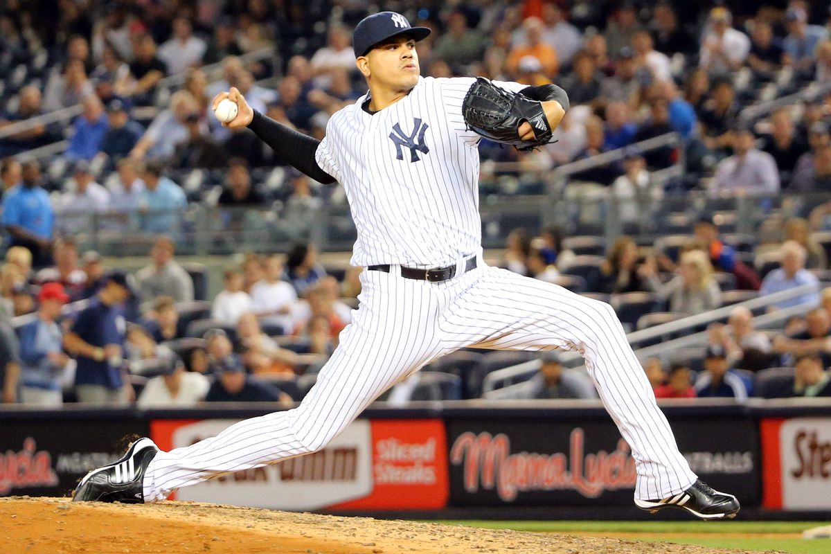 Dellin Betances has been fantastic out of the bullpen for the Yankees, and is a big reason the team is in first place.