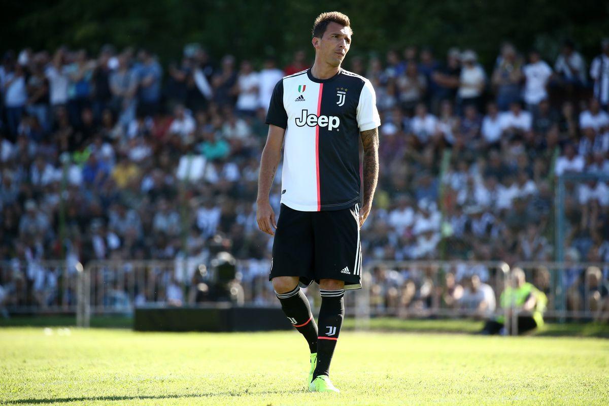 Mario Mandzukic of Juventus FC during the pre-season...